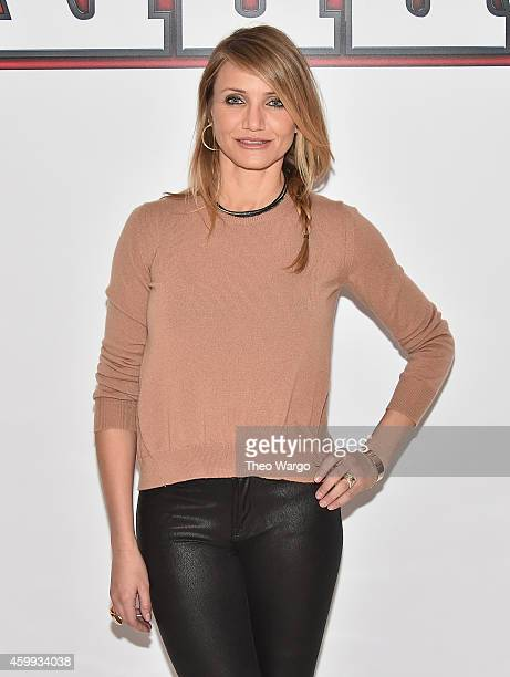 Cameron Diaz attends the 'Annie' Cast Photo Call at Crosby Street Hotel on December 4 2014 in New York City