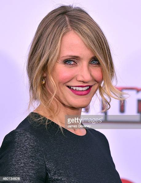 Cameron Diaz attends the 'Annie' World Premiere at Ziegfeld Theater on December 7 2014 in New York City