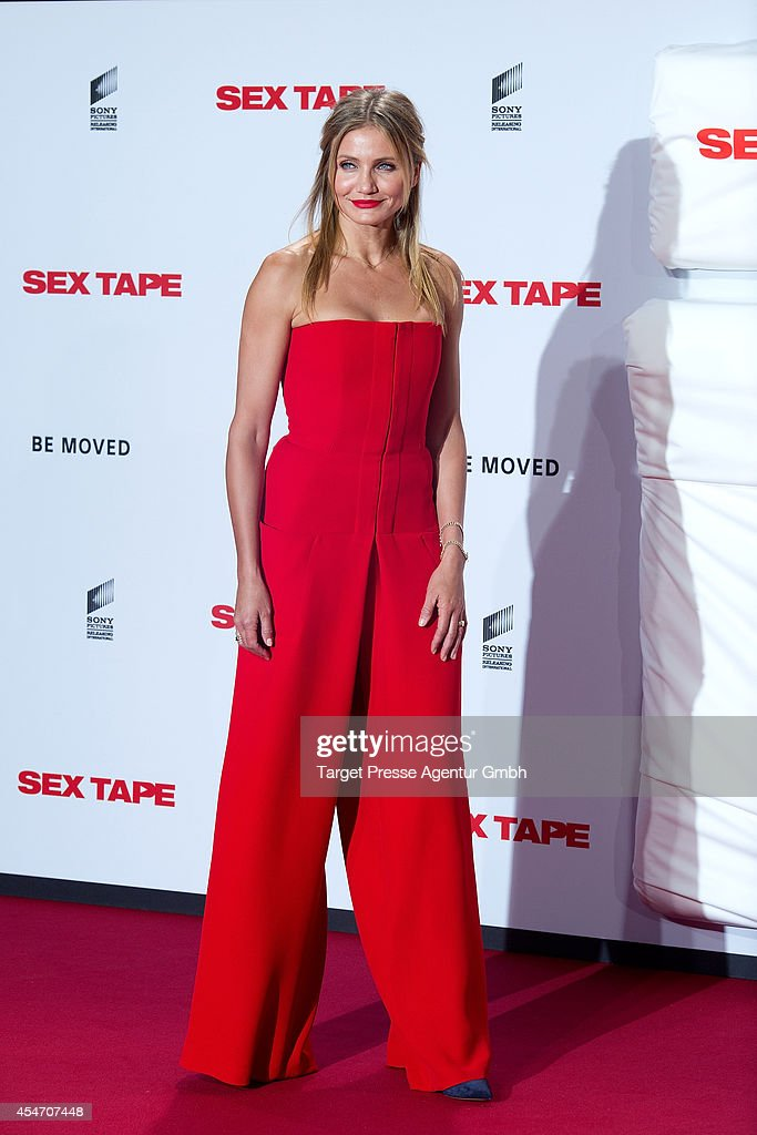 Cameron Diaz attends the German premiere of the film 'Sex Tape' at CineStar on September 5 2014 in Berlin Germany