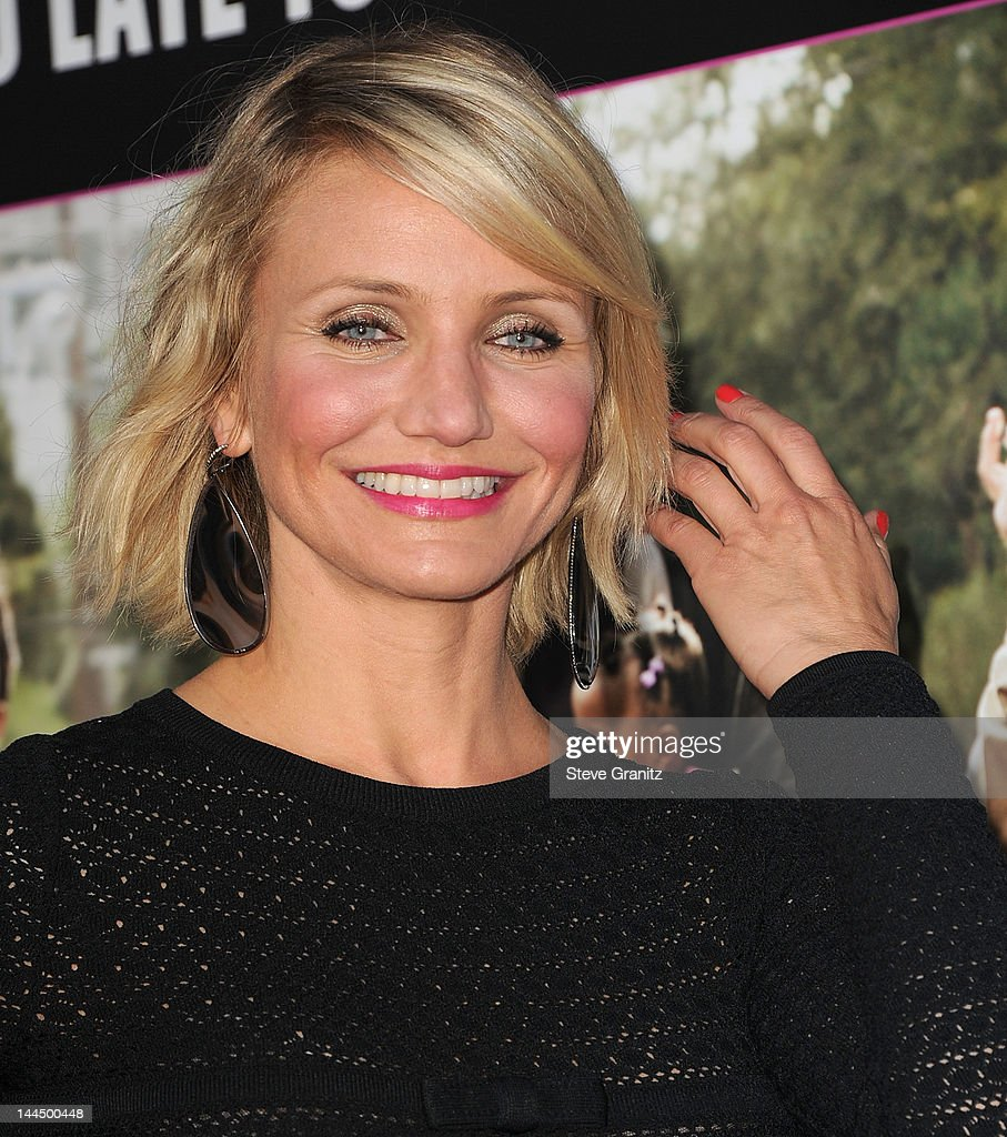 Cameron Diaz attends the Los Angeles premiere of 'What To Expect When You're Expecting' at Grauman's Chinese Theatre on May 14, 2012 in Hollywood, California.