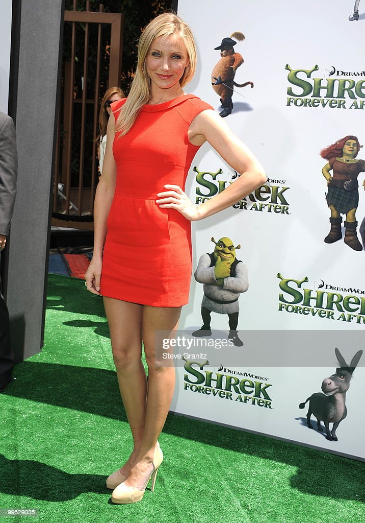 Cameron Diaz attends the 'Shrek Forever After' Los Angeles Premiere at Gibson Amphitheatre on May 16, 2010 in Universal City, California.