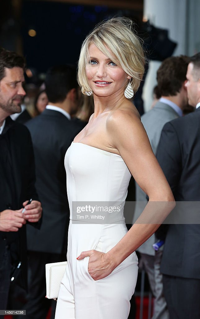 Cameron Diaz attends the UK film premiere of 'What To Expect When You're Expecting' at BFI IMAX on May 22, 2012 in London, England.
