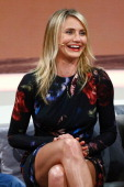 Cameron Diaz attends the 'Wetten dass' tv show on April 5 2014 in Offenburg Germany