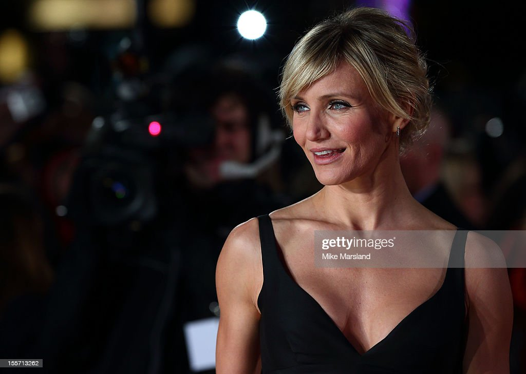 Cameron Diaz attends the World Film Premiere of Gambit at Empire Leicester Square on November 7 2012 in London England