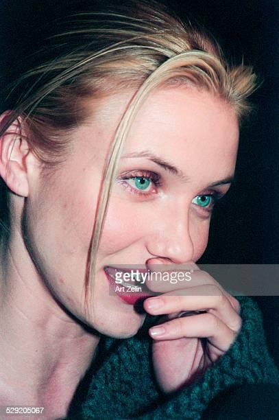 Cameron Diaz Close up circa 1990 New York