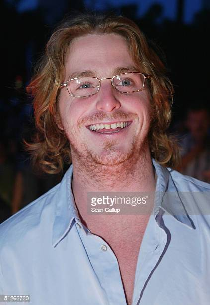 Cameron Douglas son of actor Michael Douglas arrives at the Reminders Day AIDS Gala at City Hall September 4 2004 in Berlin Germany