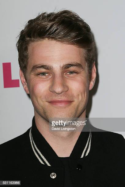 Cameron Fuller arrives at NYLON and BCBGeneration's Annual Young Hollywood May Issue Event at HYDE Sunset Kitchen Cocktails on May 12 2016 in West...