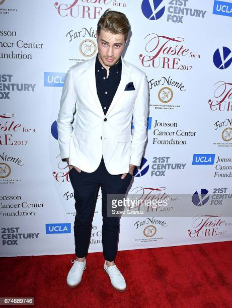 Cameron Fuller arrives at the UCLA's Johnsson Center Hosts 22nd Annual 'Taste For A Cure' Event Honoring Yael And Scooter Braun at the Beverly...