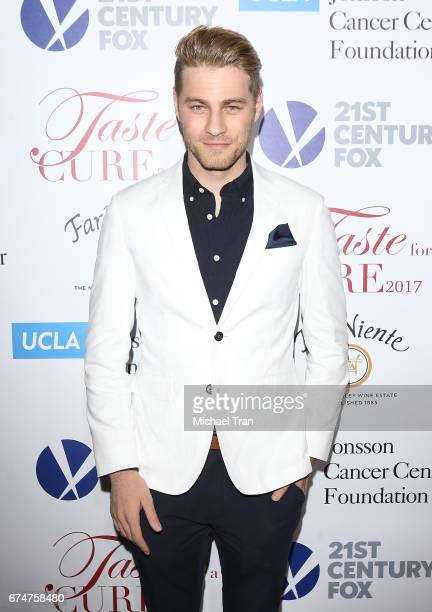 Cameron Fuller arrives at UCLA's Johnsson Center hosts 22nd Annual 'Taste For A Cure' held at the Beverly Wilshire Four Seasons Hotel on April 28...