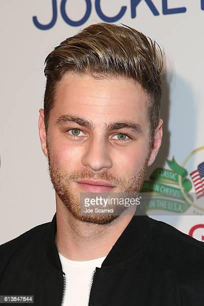 Cameron Fuller arrives to the Men's Fitness Game Changers Celebration at Sunset Tower Hotel on October 10 2016 in West Hollywood California