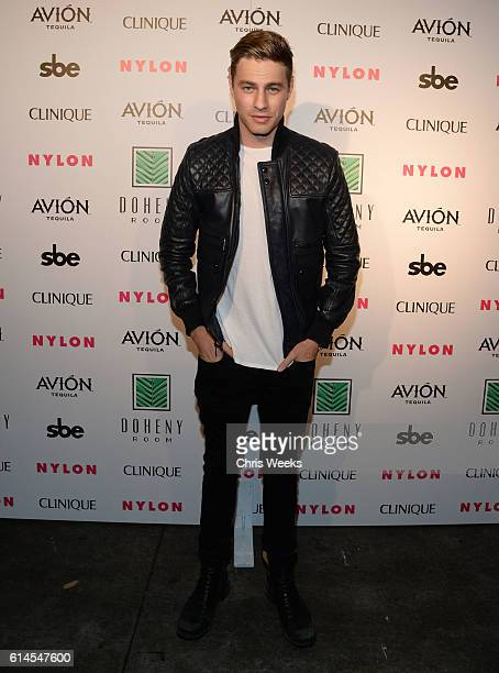 Cameron Fuller attends NYLON Nights Los Angeles in celebration of the October It Girl issue hosted by cover star Tinashe at Doheny Room on October 13...