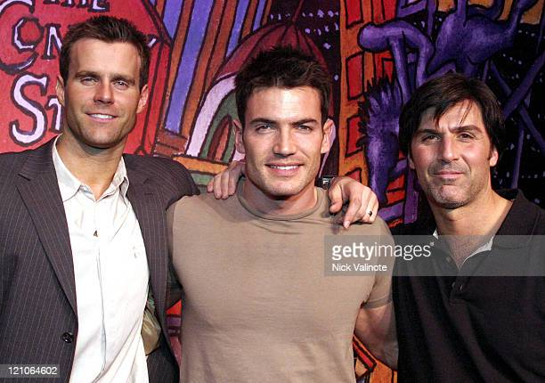 Cameron Mathison Aiden Turner and Vincent Irizarry of 'All My Children'