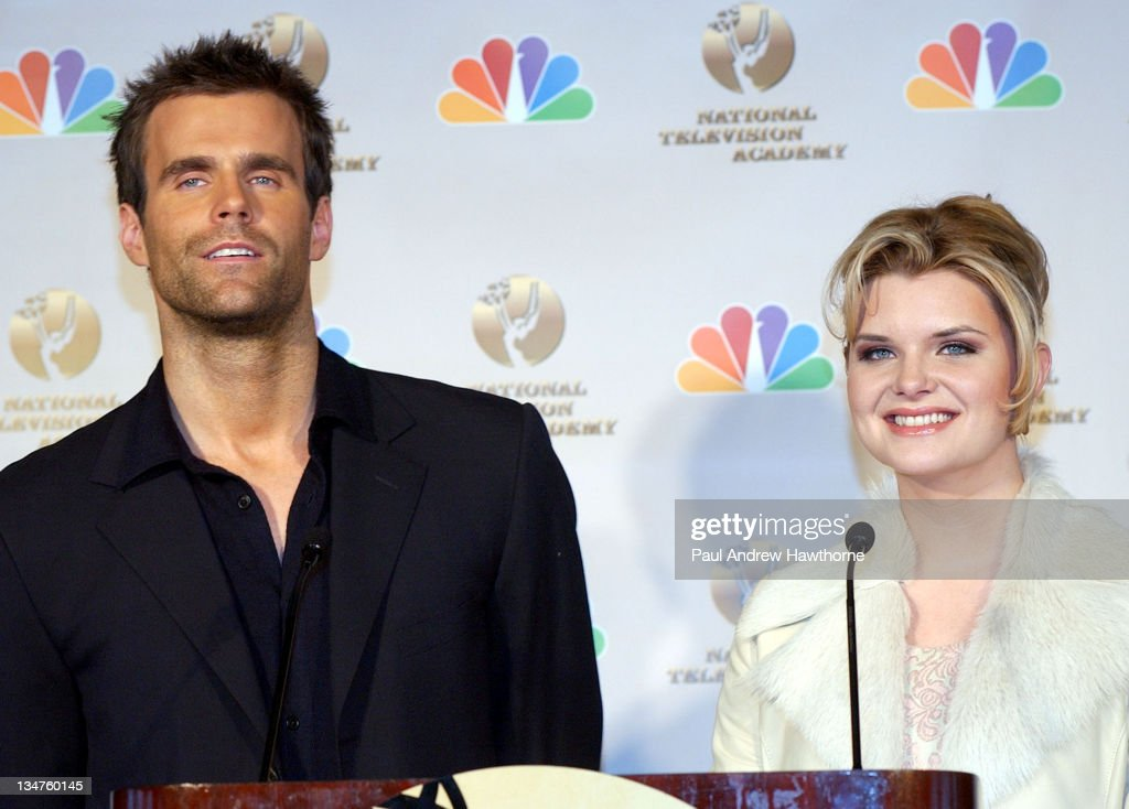 Cameron Mathison of 'All My Children' and Heather Tom of 'One Life to Live'
