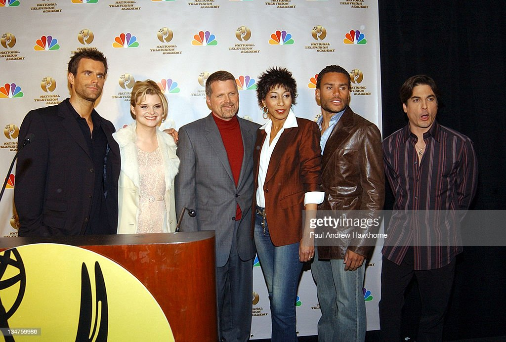 Cameron Mathison of 'All My Children' Heather Tom of 'One Life to Live' Robert Newman of 'Guiding Light' Tamara Tunie of 'As the World Turns' Charles...