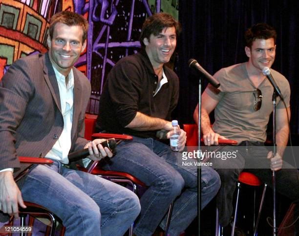 Cameron Mathison Vincent Irizarry and Aiden Turner of 'All My Children'