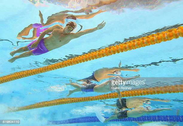 Cameron McEvoy Thomas FraserHolmes and Mack Horton of Australia compete in the Men's 200 Metre Freestyle during day two of the 2016 Australian...