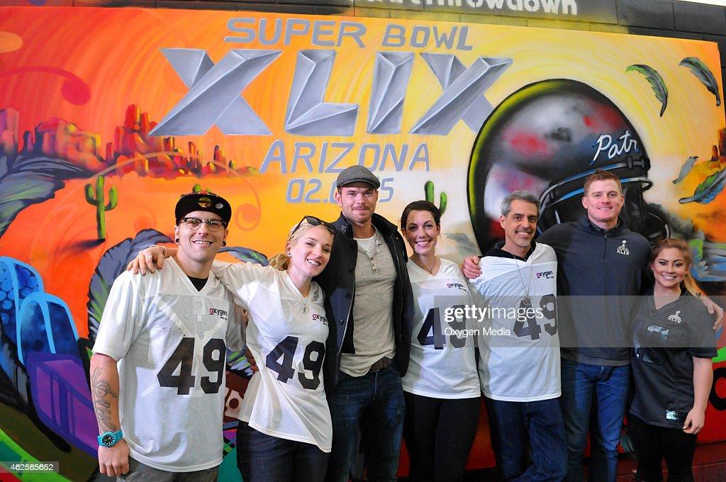 "Oxygen Media's ""Street Art Throwdown"" - Super Bowl Activation"