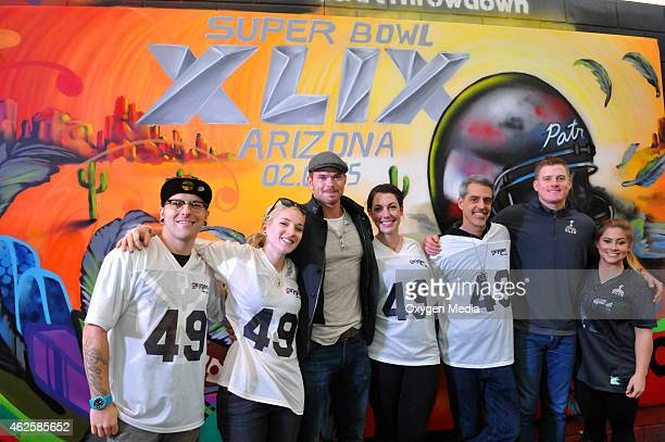 Cameron Moberg Jenna Morello actor Kellan Lutz Lauren Wagner Justin Bua Arizona Cardinals punter Drew Butler and Olympic Gold Medalist Shawn Johnson...