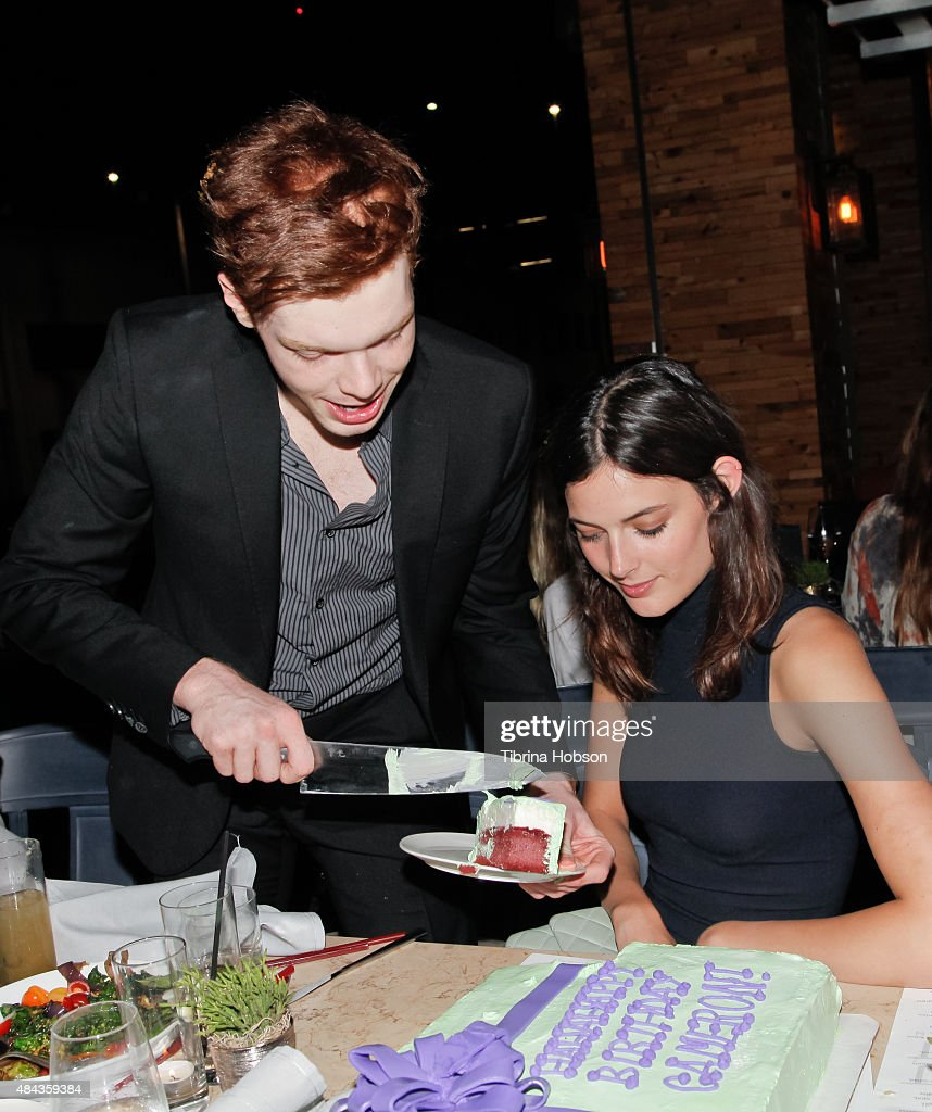 Cameron Monaghan And Sadie Newman Attend Monaghan's