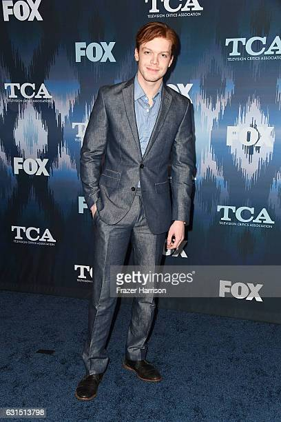 Cameron Monaghan attends the FOX AllStar Party during the 2017 Winter TCA Tour at Langham Hotel on January 11 2017 in Pasadena California