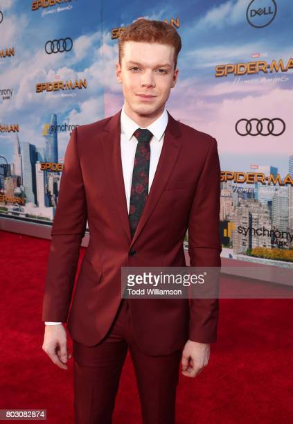 Cameron Monaghan attends the premiere of Columbia Pictures' 'SpiderMan Homecoming' at TCL Chinese Theatre on June 28 2017 in Hollywood California