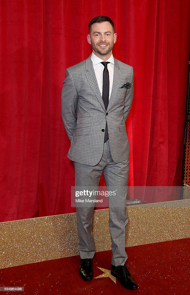 Cameron Moore attends the British Soap Awards 2016 at Hackney Empire on May 28, 2016 in London, England.