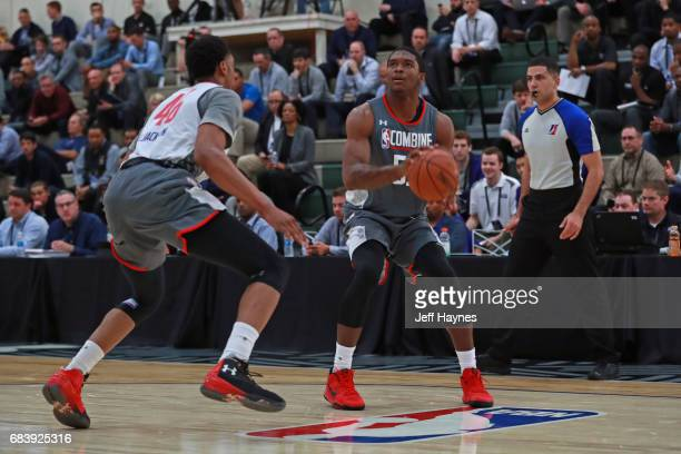Cameron Oliver looks to shoot the ball during the NBA Draft Combine Day 2 at the Quest Multisport Center on May 12 2017 in Chicago Illinois NOTE TO...
