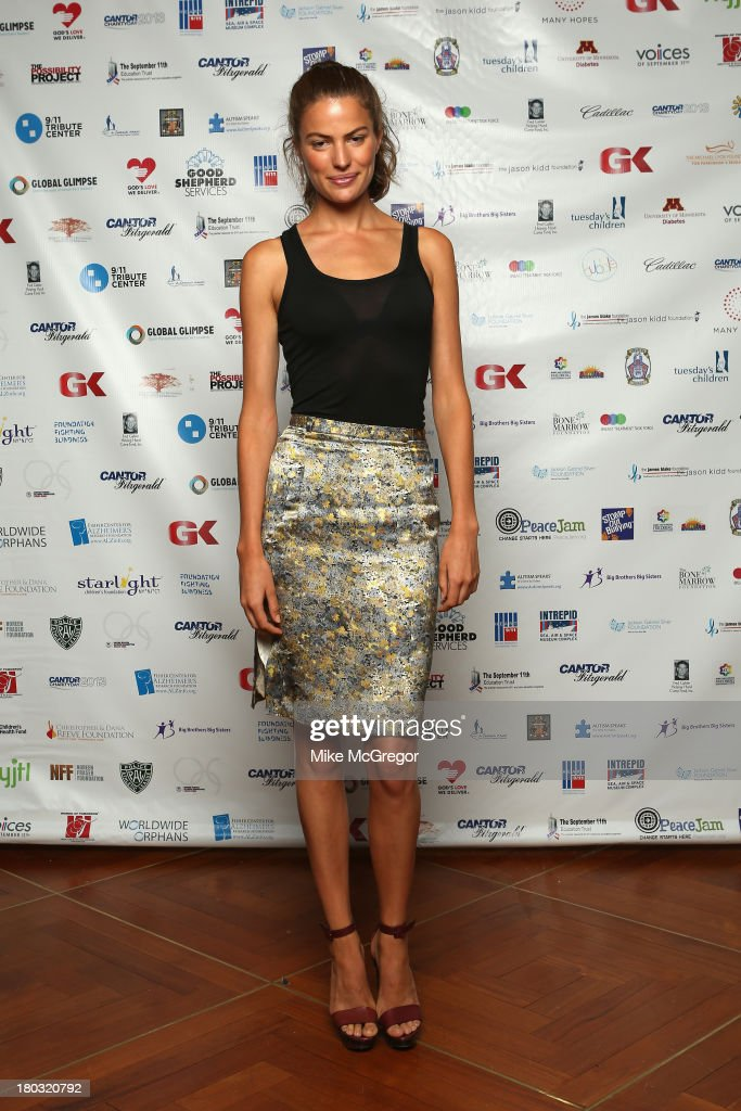 Cameron Russell attends the Annual Charity Day Hosted By Cantor Fitzgerald And BGC at the Cantor Fitzgerald Office on September 11, 2013 in New York, United States.