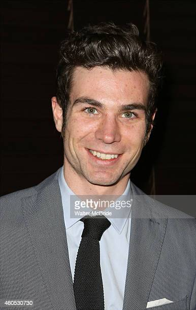 Cameron Scoggins attends the Opening Night After Party for 'Pocatello' at Heartland Brewery on December 15 2014 in New York City