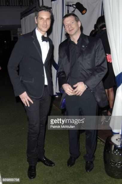 Cameron Silver and Lorenz Baumer attend Lorenz Baumer Private Dinner in Celebration of his Paris Fine Jewelry Collection at The London West Hollywood...