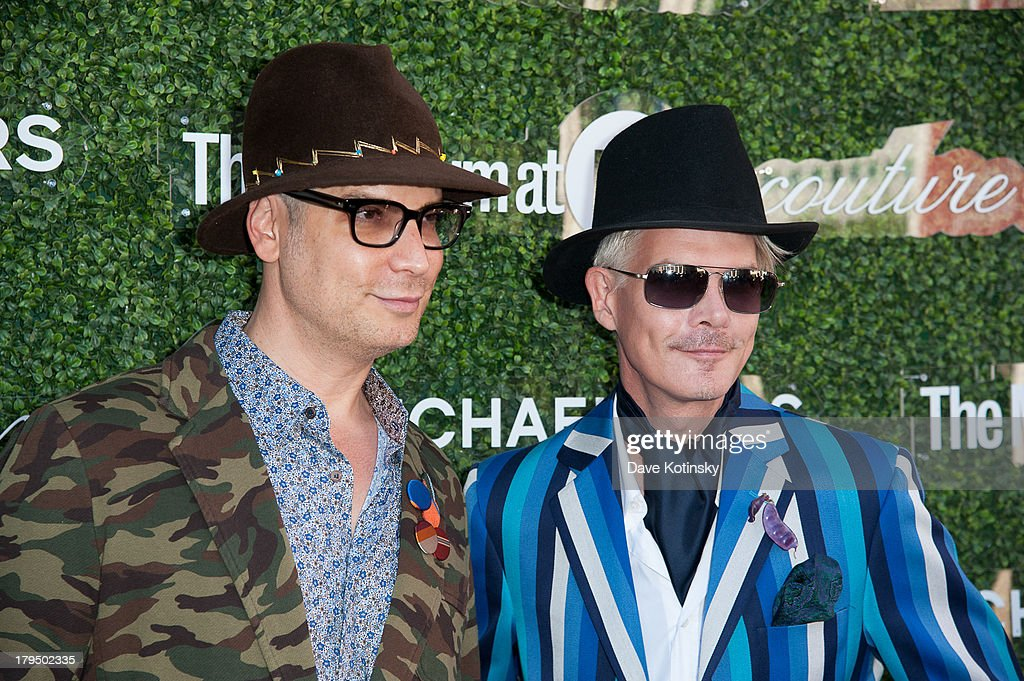Cameron Silver and Rod Keenan attends 2013 Couture Council Fashion Visionary Awards at David H. Koch Theater, Lincoln Center on September 4, 2013 in New York City.