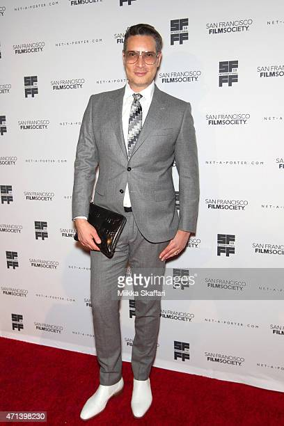 Cameron Silver arrives at the Film Society Awards night at 58th San Francisco International Film Festival at The Armory on April 27 2015 in San...