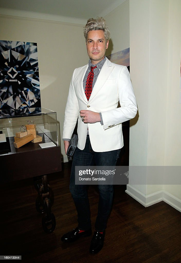 Cameron Silver attends Hoorsenbuhs for Forevermark Collection cocktail party at Chateau Marmont on January 30, 2013 in Los Angeles, California.