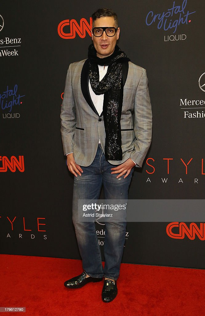 Cameron Silver attends the 10th annual Style Awards during Mercedes Benz Fashion Week Spring 2014 at Lincoln Center on September 4, 2013 in New York City.