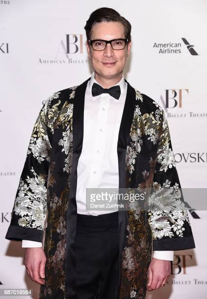 Cameron Silver attends the American Ballet Theatre Spring 2017 Gala at The Metropolitan Opera House on May 22 2017 in New York City