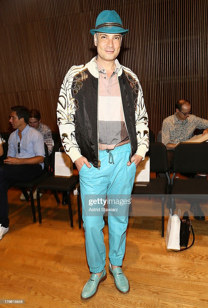 Cameron Silver attends the David Hart fashion show during Mercedes-Benz Fashion Week Spring 2014 at the DiMenna Center on September 5, 2013 in New York City.