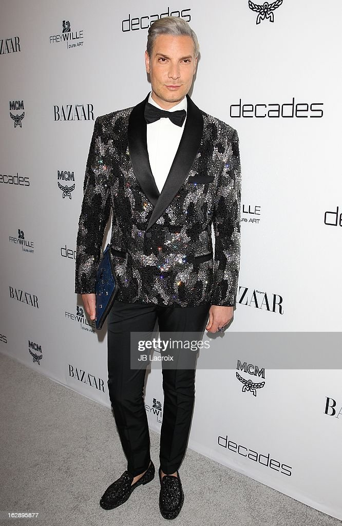Cameron Silver attends the Dukes Of Melrose launch hosted by Decades and Harper's BAZAAR at The Terrace at Sunset Tower on February 28, 2013 in West Hollywood, California.