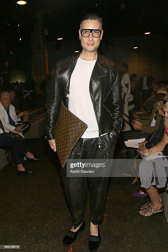 <a gi-track='captionPersonalityLinkClicked' href=/galleries/search?phrase=Cameron+Silver&family=editorial&specificpeople=546426 ng-click='$event.stopPropagation()'>Cameron Silver</a> attends the Marc By Marc Jacobs fashion show during Mercedes-Benz Fashion Week Spring 2014 at Pier 57 on September 10, 2013 in New York City.