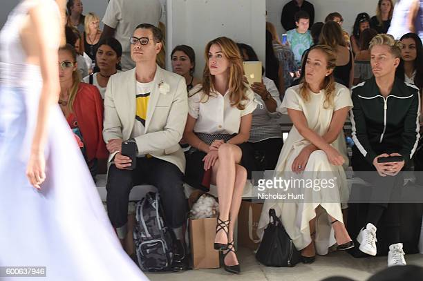 Cameron Silver Julia Loomis Malina Gilchrist and Kyle Anderson attend the Supima Design Competition 2016 during New York Fashion Week September 2016...