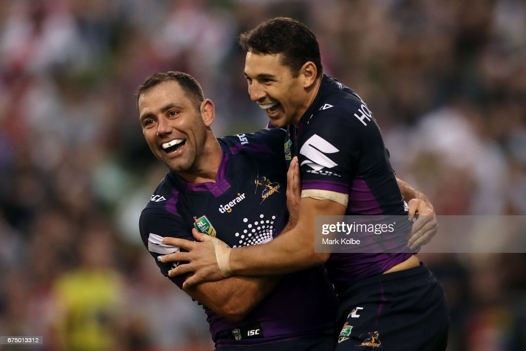 NRL Rd 9 - Dragons v Storm
