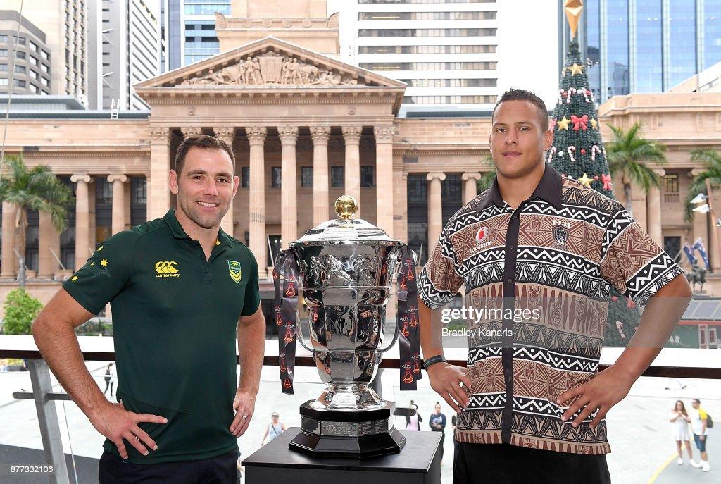Australia & Fiji Rugby League World Cup Civic Reception