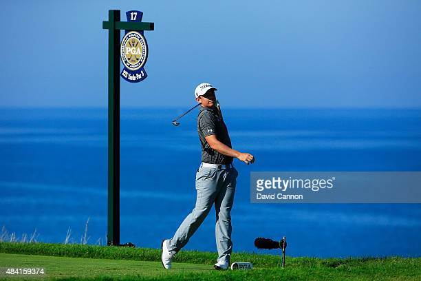 Cameron Smith of Australia during the third round of the 2015 PGA Championship at Whistling Straits on August 15 2015 in Sheboygan Wisconsin