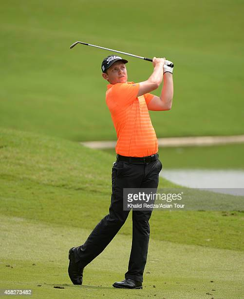 Cameron Smith of Australia in action during day four of the 2014 CIMB Classic at Kuala Lumpur Golf Country Club on November 2 2014 in Kuala Lumpur...
