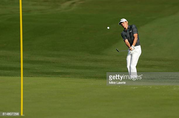 Cameron Smith of Australia plays a shot on the tenth fairway during the second round of the Valspar Championship at Innisbrook Resort Copperhead...