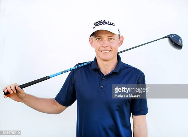 Cameron Smith of Australia poses for a portrait on February 17 2016 in Pacific Palisades California
