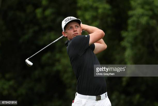Cameron Smith of Australia tees off during the final round of the Zurich Classic at TPC Louisiana on April 30 2017 in Avondale Louisiana