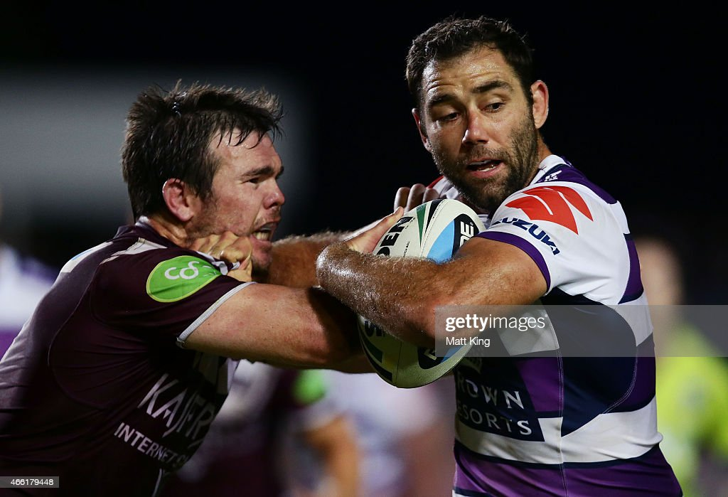 NRL Rd 2 - Sea Eagles v Storm