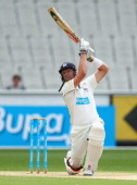 Cameron White of the Bushrangers bats during day two of the Sheffield Shield match between the Victoria Bushrangers and the New South Wales Blues at...