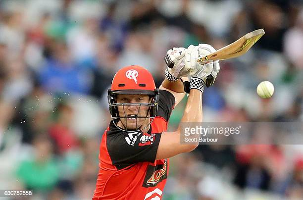 Cameron White of the Renegades bats during the Big Bash League match between the Melbourne Stars and Melbourne Renegades at Melbourne Cricket Ground...