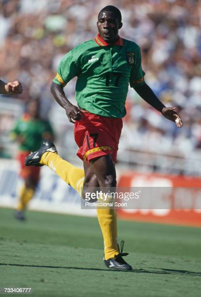 Cameroon footballer MarcVivien Foe pictured in action during a 1994 FIFA World Cup group B match in the United States in June 1994 Cameroon would...